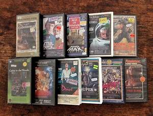 Artist Creates Amazing Vintage Vhs Tape Boxes For Modern