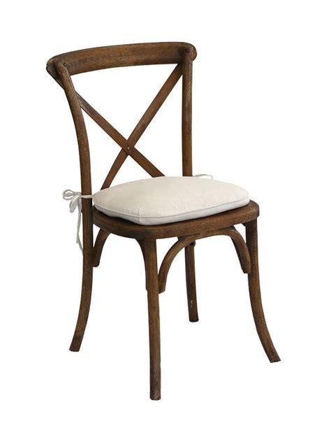 vineyard cross back chair w cushion chairs