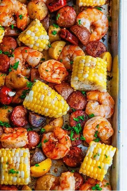 Boil Shrimp Pan Seafood Recipes Sheet Recipe