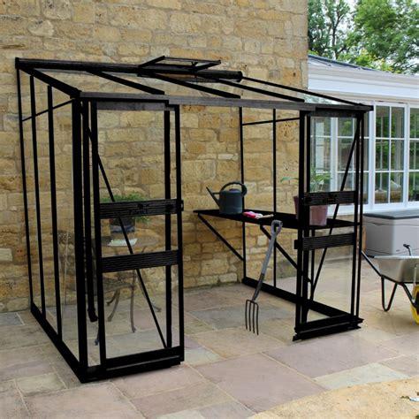 serre de jardin adossee en verre serre adoss 233 e 4 93m 178 en verre tremp 233 broadway greenhouses