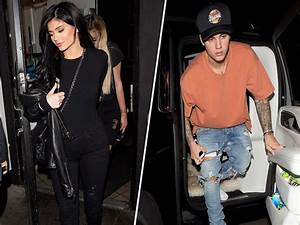 Kylie Jenner in Los Angeles with Justin Bieber after Tyga ...
