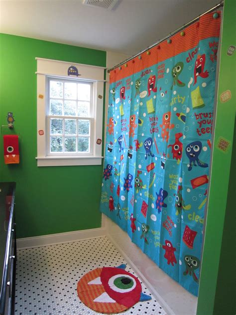 Boys Monster Bathroom My Beautiful House Pinterest