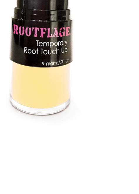 rootflage warm blonde temporary root touch  hair powder