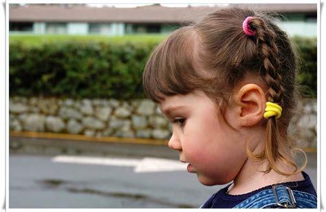 gaya rambut anak perempuan  simple  cantik