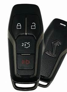Ford Mustang Cobra keyless remote FCC ID M3N-A2C31243800 key fob GEN 4 Peps entry keyfob control ...