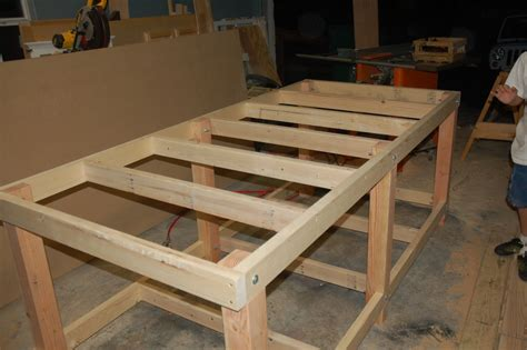 david easy diy workbench legs wood plans  uk ca