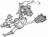 Witch Lineart Witches sketch template