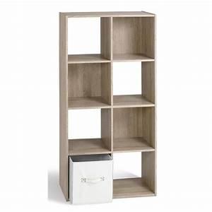 COMPO Cube de rangement 8 cases coloris chêne Achat / Vente meuble étagère COMPO Cube 8 cases