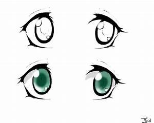Anime Eye Study by VirritumVoid on DeviantArt
