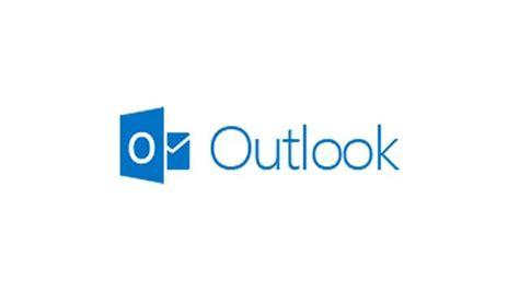ecran ordinateur de bureau outlook com logo