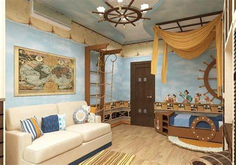 Nautical Decor Ideas, Kids Room Decorating With Ship Wheels