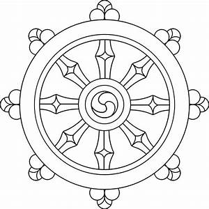 Buddhist Wheel of Dharma | Buddhism | Pinterest ...