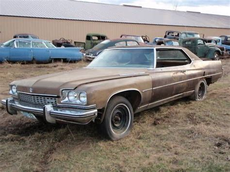 1973 Buick Limited Tow Package Demo Derby Car