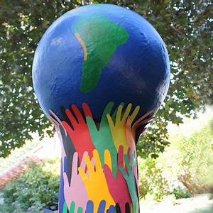 Globe Terrestre Carton : grand globe terrestre tuto gratuit animassiettes ~ Teatrodelosmanantiales.com Idées de Décoration