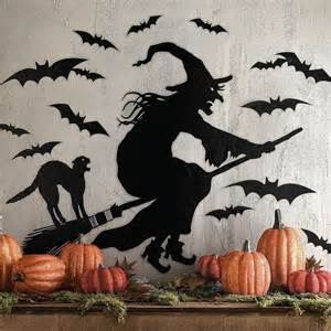Martha Stewart Witch Silhouette Halloween