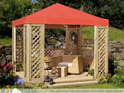 Dach Für Holzpavillon by Pavillon Quot Lindgren Quot Ohne Dach Pavillon Zubeh 246 R