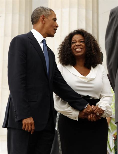 oprah winfrey president obama is disrespected because he
