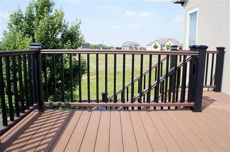 white wood fence panels 5 types of decorative deck railings salter spiral stair
