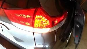 2012 Toyota Sienna Tail Light Housing