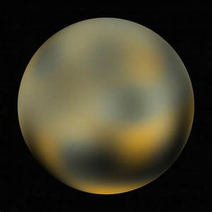 distant image of Pluto taken from the Hubble telescope
