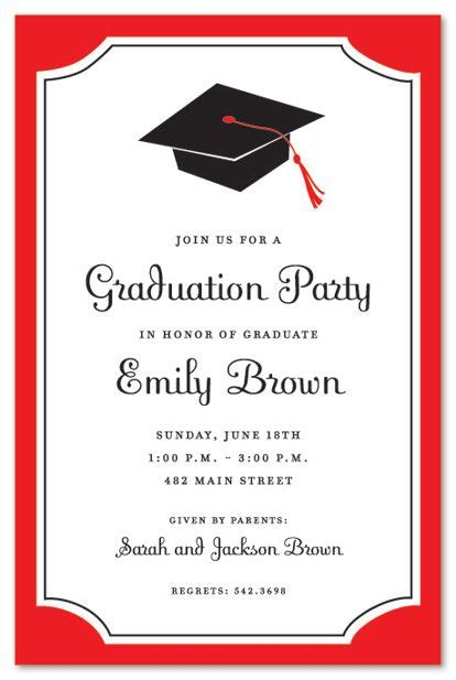 sample graduation invites undangan