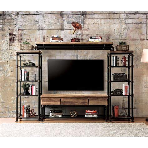 ideas  industrial tv stand  pinterest tv