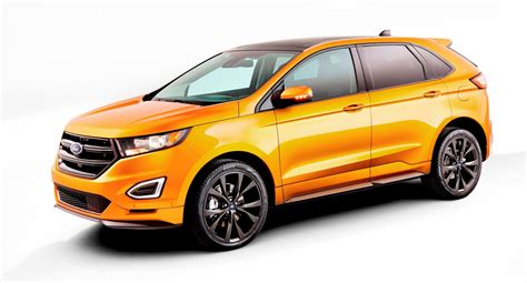 Ford Edge Style Change by 2015 Ford Edge Debut In 200 Photos Standard Ecoboost