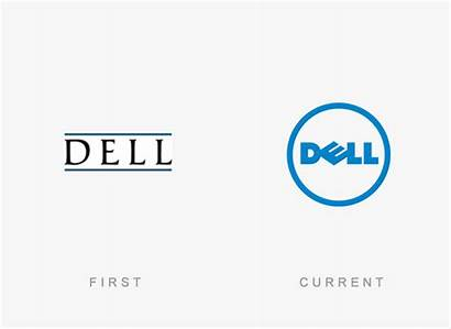 Dell Famous Companies Logos Redesigns Brands Designbolts