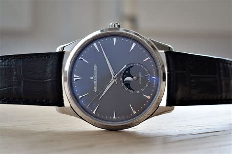 Jaeger-lecoultre Master Ultra-thin With Blue And Grey