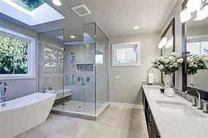 Salle De Bain Rénovation : 10 exemples de projets de r novations de salle de bain ~ Nature-et-papiers.com Idées de Décoration