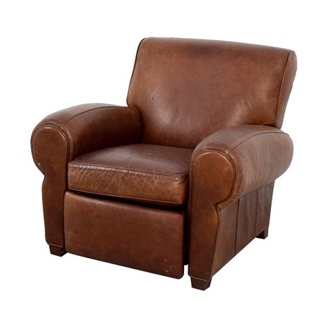 pottery barn leather chair pottery barn recliners pottery barn irving leather
