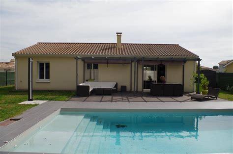 maison plain pied 100m 178 4 chambres piscine sur 638m 178 de jardin sur villenave d ornon clt