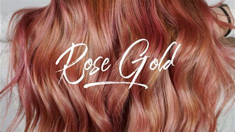 Why And How To Get A Rose Gold Hair Color Cabellos T