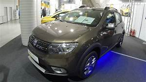 Sandero Stepway Brun Vison : dacia sandero stepway new model 2017 quarzit brown colour walkaround interior ~ Maxctalentgroup.com Avis de Voitures