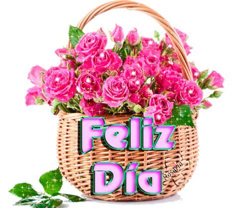 El Rincon de mis Imagenes: Feliz Día Cesta De Flores