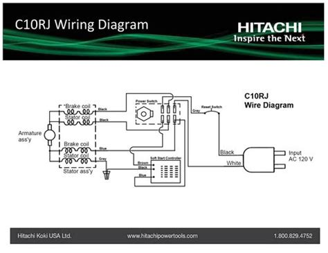 Hitachi Table Saw Wiring Diagram by Help With Wiring For A New Tablesaw By Jwils218