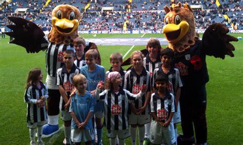 West Bromwich Albion Mascot