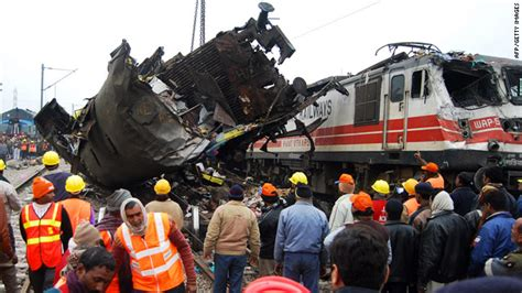At Least 10 Killed In India Train Crash