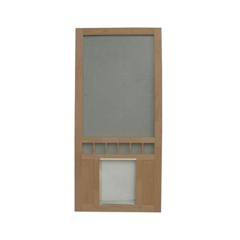 screen door with doggie door built in lowes exterior door with built in pet door lowes home decor