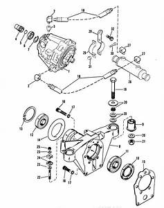 Transmission And Tailstock For Mercruiser 370 H P  Trs