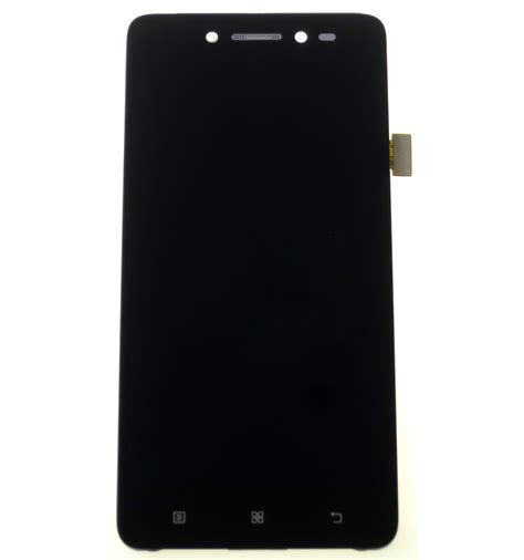 lcd touch screen front panel black original for lenovo