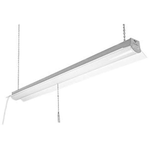commercial electric 4 ft 64 watt equivalent white