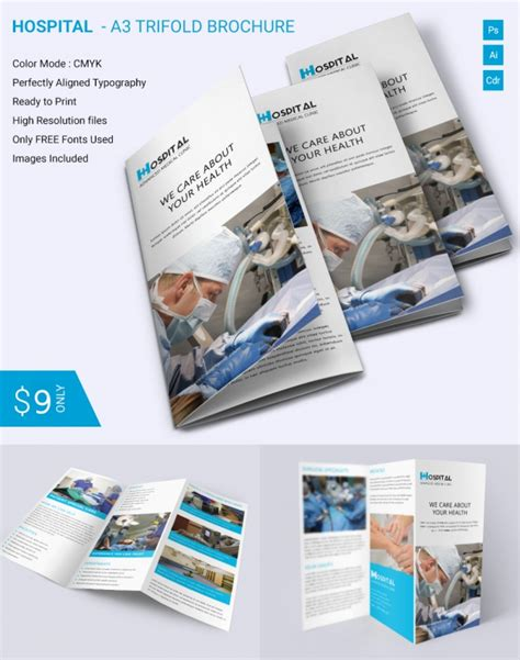 Free Tri Fold Brochure Template Indesign by Free Indesign Tri Fold Brochure Templates Csoforum Info