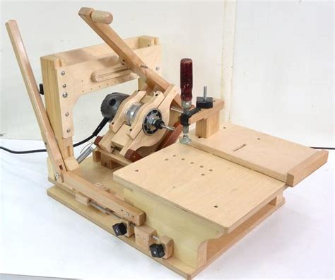 project   homemade wood router