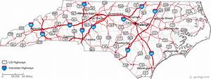 Road Maps Of Nc And Travel Information