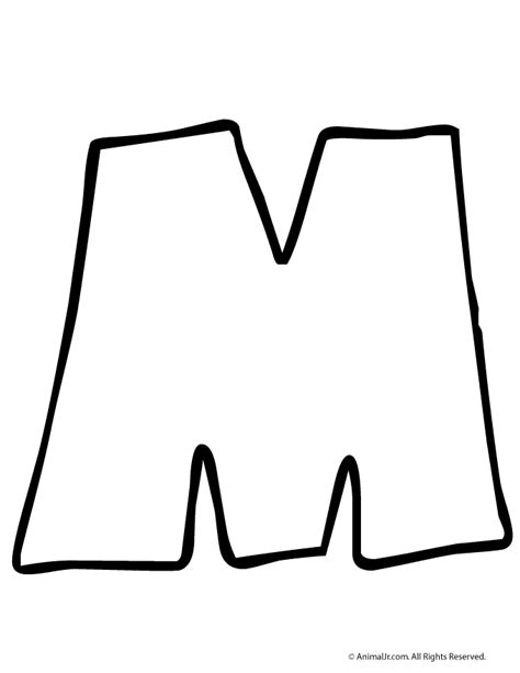 I Can Print In Small Letters And I Like To See The Letter M Woo Jr Activities
