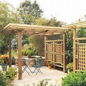 Holz Pergola Fr Den Garten 25 Interessante Design Ideen