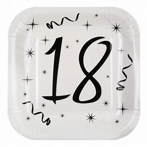 Deco 18 Ans : assiette carton anniversaire 18 ans les 10 d co anniversaire 18 ans ~ Teatrodelosmanantiales.com Idées de Décoration