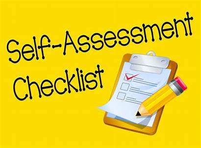 Assessment Self Checklist Evaluation Student Formative Clipart