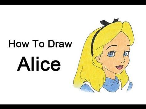 draw alice alice  wonderland youtube